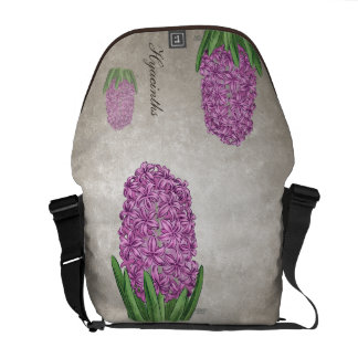 Pink Hyacinths Customizable Courier Bags