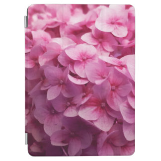 Pink Hydrangea bloom closeup flower photograph. iPad Air Cover