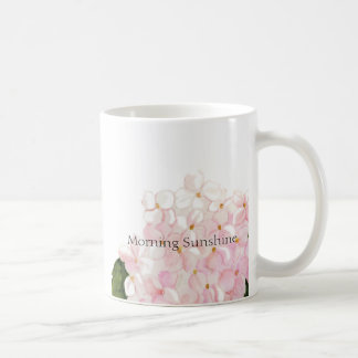 Pink Hydrangea coffee mug
