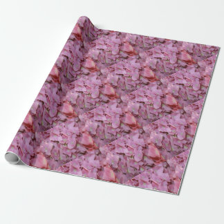 Pink Hydrangea Flower Wrapping Paper