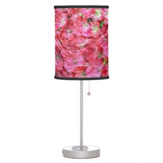 PINK HYDRANGEA TABLE LAMP