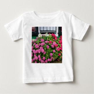 Pink hydrangeas, Holland Baby T-Shirt
