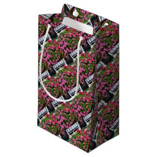 Pink hydrangeas, Holland Small Gift Bag