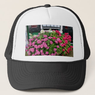 Pink hydrangeas, Holland Trucker Hat