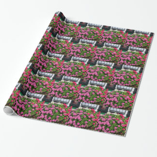 Pink hydrangeas, Holland Wrapping Paper