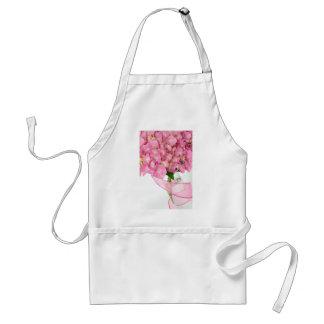 Pink Hydrangeas Standard Apron