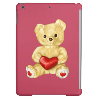 Pink Hypnotizing Cute Teddy Bear iPad Air Case