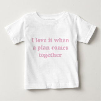Pink I Love It Baby T-Shirt