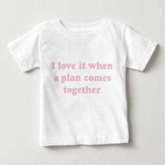 Pink I Love It Tshirts