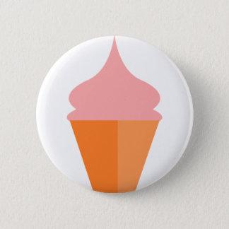 Pink Ice Cream 2 Inch Round Button