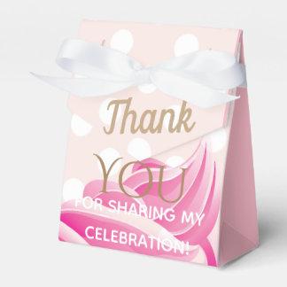 Pink Ice Cream cone Party Favor Box