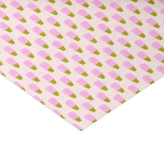 Pink Ice Cream Cones Tissue Paper