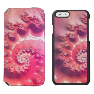 Pink Ice Cream for 21 Flavors of Fibonacci Incipio Watson™ iPhone 6 Wallet Case