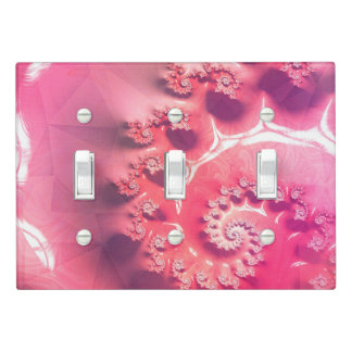 Pink Ice Cream for 21 Flavors of Fibonacci Light Switch Cover