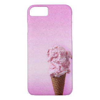 Pink Ice Cream - Fun - iPhone 7 iPhone 8/7 Case
