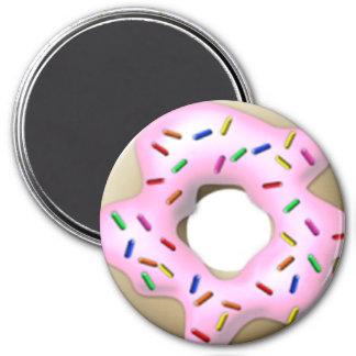 Pink Iced Doughnut Magnet