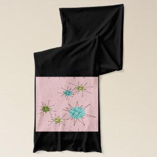 Pink Iconic Atomic Starbursts Jersey Scarf