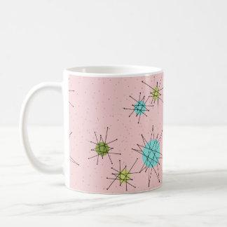 Pink Iconic Atomic Starbursts Mug