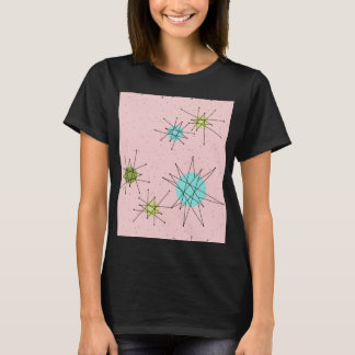 Pink Iconic Atomic Starbursts T-Shirt