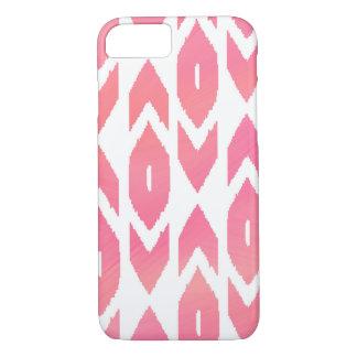 Pink Ikat Arrows iPhone 8/7 Case