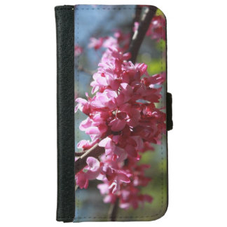 Pink in Bloom cell phone case/wallet iPhone 6 Wallet Case