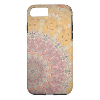 Pink in yellow iPhone 8/7 case