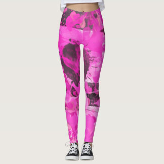 Pink Ink Leggings