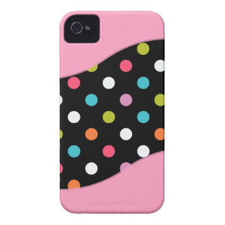 Pink iPhone 4 Polka Dot Cases