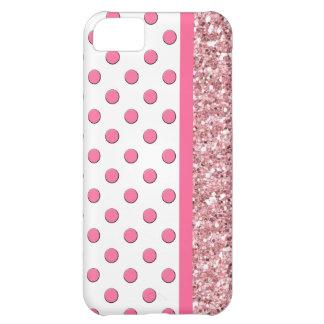 Pink iPhone 5 Glitter Case