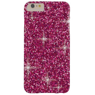 Pink iridescent glitter barely there iPhone 6 plus case