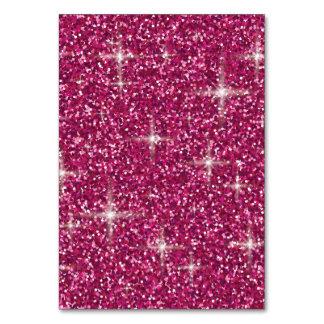 Pink iridescent glitter card