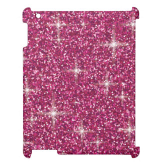 Pink iridescent glitter case for the iPad 2 3 4