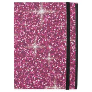 """Pink iridescent glitter iPad pro 12.9"""" case"""