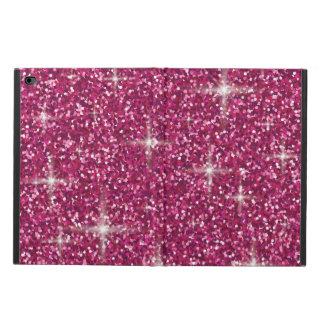 Pink iridescent glitter powis iPad air 2 case