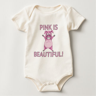 Pink is Beautiful! Baby Bodysuit