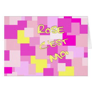 Pink is Me Card