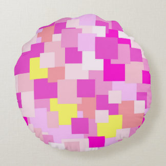 Pink is Me Round Pillow