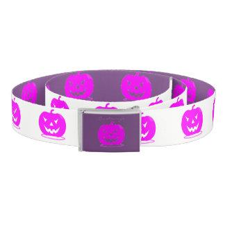 Pink Jack o'lantern Halloween Thunder_Cove Belt