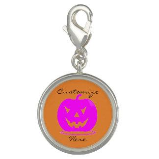 Pink Jack o'lantern Halloween Thunder_Cove Charm