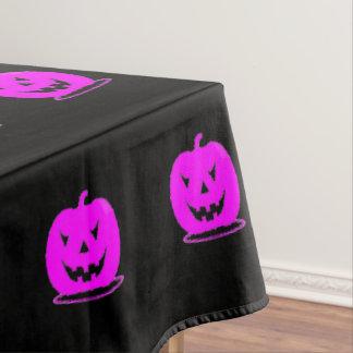 Pink Jack o'lantern Halloween Thunder_Cove Tablecloth