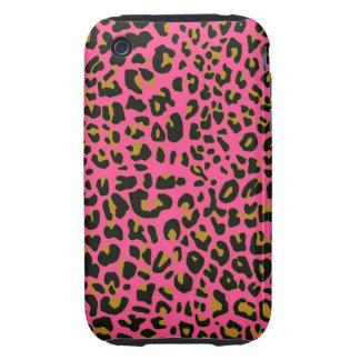Pink Jaguar iPhone 3G/3GS Case-Mate Tough iPhone 3 Tough Case