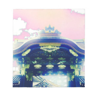 Pink Japanese Castle Series Notepad