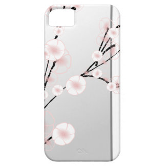 Pink japanese cherry blossom plant iPhone 5 cover