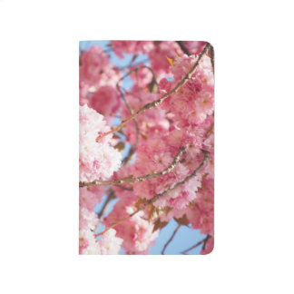 Pink Japanese Cherry Blossom  Pocket Journal