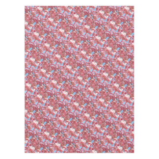 Pink Japanese Cherry Blossom Tablecloth