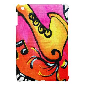 Pink Jazz Music iPad Mini Covers