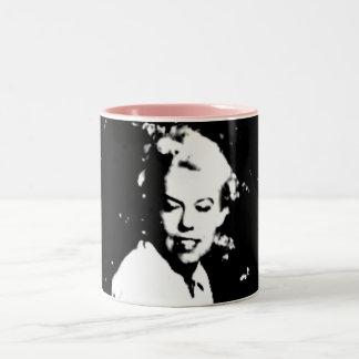 Pink Jean Two-Tone Coffee Mug