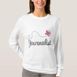 Pink Journalist T-Shirt
