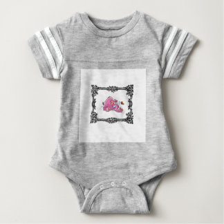 pink jumbo in box baby bodysuit