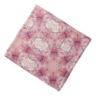 Pink Kaleidoscope Bandana